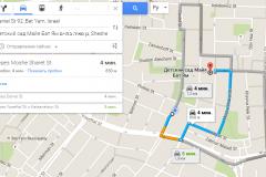 Google-maps-marshrut